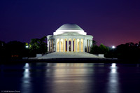 Jefferson Memorial at Night
