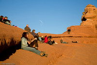 Photographs at Delicate Arch.