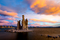 Sunrise Among the Tufa, Mono Lake, California