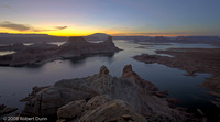 Lake Powell and Gunsight Butte